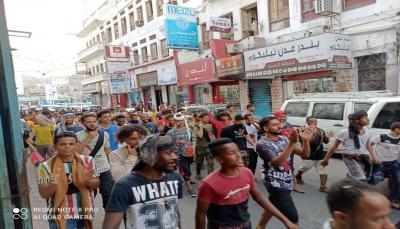 الائتلاف الوطني الجنوبي يعلن تضامنه ووقوفه المطلق مع المتظاهرين السلميين في عدن