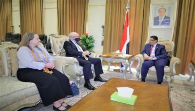 وزير الخارجية: طريق استعادة عملية السلام يبدأ بالضغط على الحوثيين لوقف عدوانهم