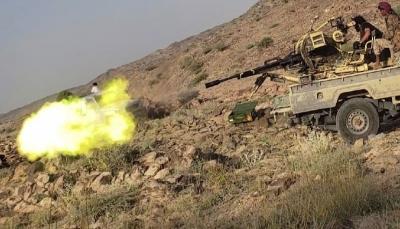 البيضاء.. مصرع وإصابة عشرات الحوثيين في جبهة ناطع