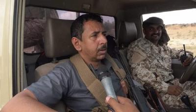 """شبوة على خط النار.. """"إبن عديو"""" يقود المعارك متوعداً بدحر ميلشيات الحوثي: """"فرحكم لن يطول"""""""