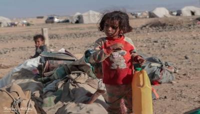 إدارة المخيمات بمأرب: المنظمات الأممية والهيئات الدولية لم تستجب لنداءات الاستغاثة في العبدية