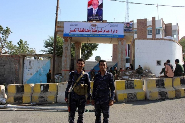 """شرطة تعز تؤكد تورط أبو العباس في قضية اغتيال النقيب """"محمود الحميدي"""" (بيان)"""