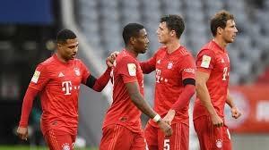 بايرن يفوز 5-2 على أينتراخت ويواصل مسيرته نحو اللقب الألماني