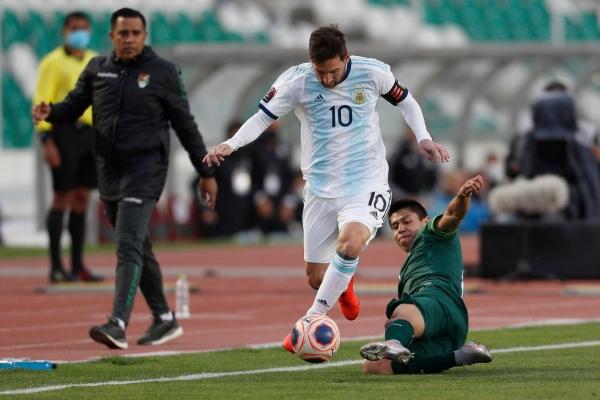 ميسي يقود الأرجنتين لفك شفرة بوليفيا بالتصفيات المؤهلة لكأس العالم