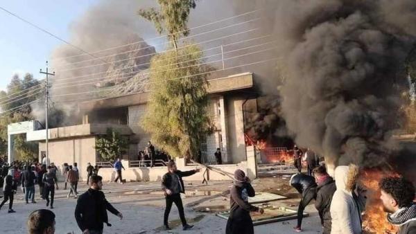 العراق.. حظر تجوال في السليمانية ومناطق محيطة إثر احتجاجات