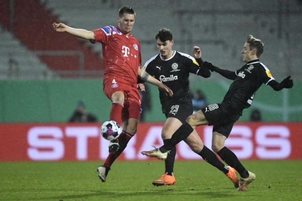 فريق مغمور يفاجئ بايرن ميونيخ ويُقصيه من كأس ألمانيا