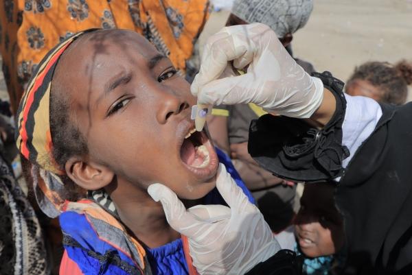 اليونيسف: 190 الف شخص استفادوا من لقاح الكوليرا في الضالع وحضرموت