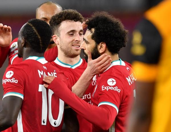 جوتا يعيد ليفربول إلى سكة الانتصارات