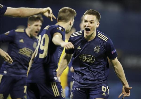 الدوري الأوروبي: دينامو يُقصي توتنهام وأرسنال وروما يتأهلان إلى ربع النهائي