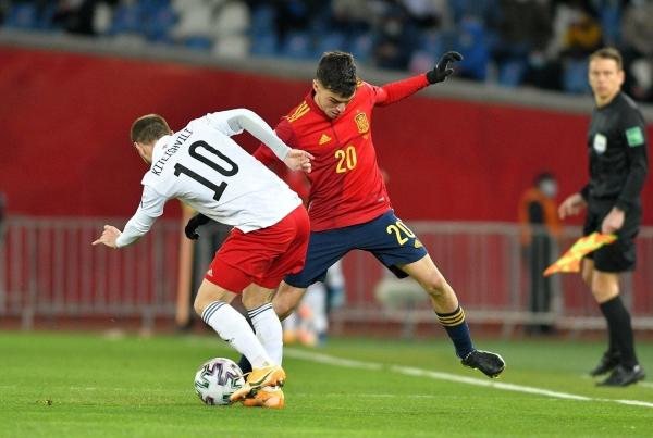 جورجيا تحرج إسبانيا وفوز سهل لإنجلترا وفرنسا في التصفيات الأوروبية للمونديال