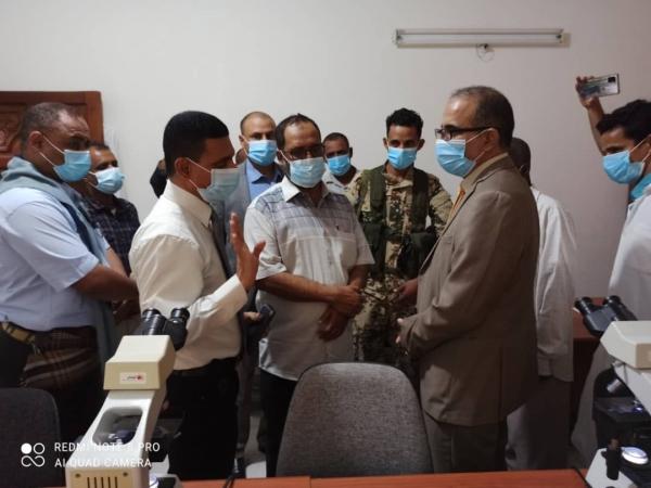 """وزير الصحة يطلع على أنشطة برنامج مكافحة الملاريا بـ""""حضرموت"""""""