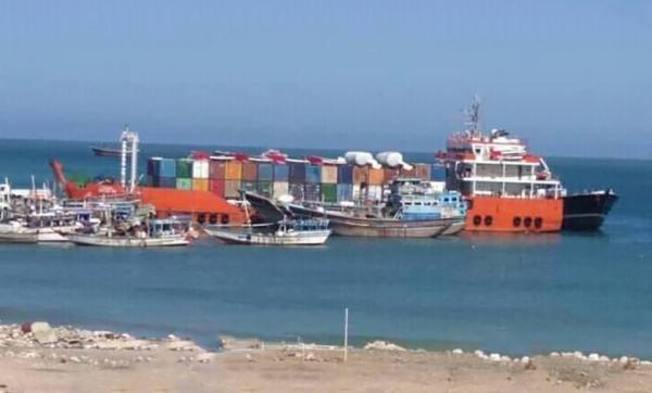 وصول سفينة إماراتية مجهولة الحُمولة إلى ميناء سقطرى