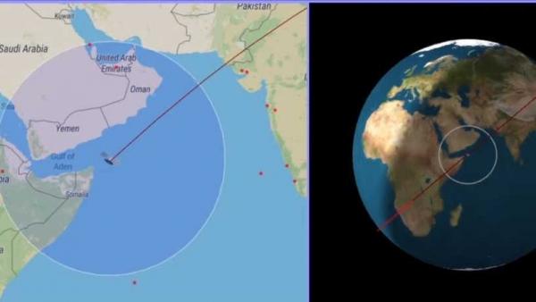 الصين تطمئن العالم حول مصير صاروخها التائه (بث مباشر)