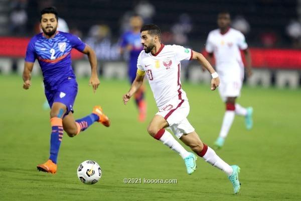 منتخب قطر يهزم نظيره الهندي وفلسطين تتجاوز سنغافوره والبحرين تكتسح كمبوديا