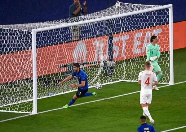 إيطاليا أول المتأهلين إلى ثمن نهائي يورو 2020 بفوز كبير على سويسرا