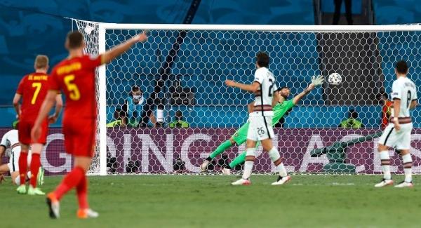 يورو 2020: بلجيكا تجرد البرتغال من اللقب وتضرب موعداً مع إيطاليا في ربع النهائي