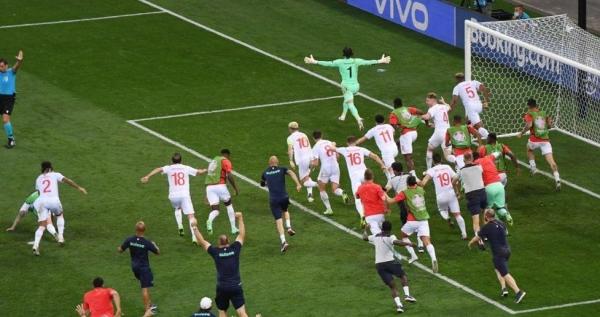 يورو 2020: سويسرا تصنع المعجزة وتقصي فرنسا وتبلغ ربع النهائي