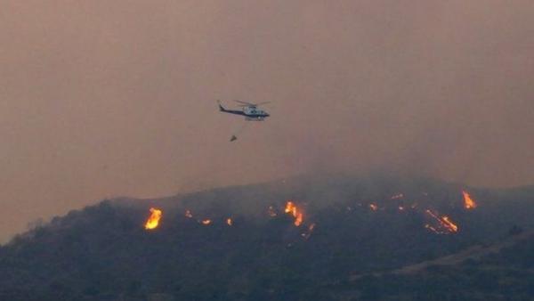 """قبرص تشهد """"أسوأ حرائق للغابات"""" في تأريخها ودول عدة تهب لإرسال مساعدات"""