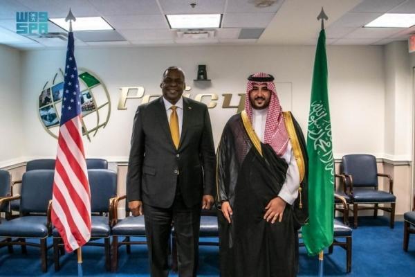 مباحثات سعودية أمريكية حول التعاون العسكري والتصدي للتهديدات