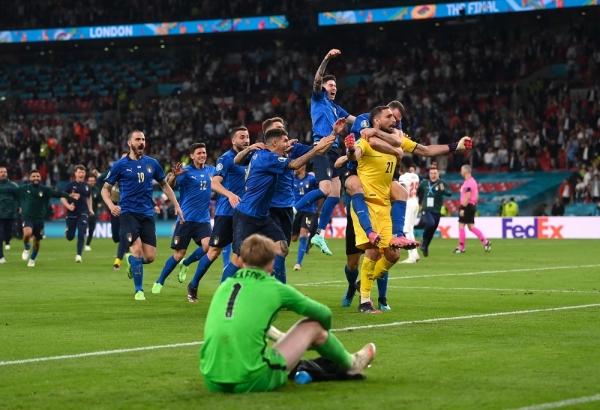 منتخب إيطاليا يتوج بطلاً لأوروبا للمرة الثانية في تاريخه