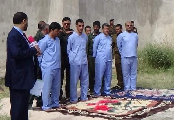 صنعاء.. تنفيذ حكم الإعدام بحق أربعة من قتلة عبدالله الأغبري