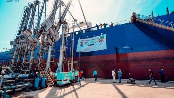 115ألف طن.. عدن: وصول الدفعة الرابعة من منحة المشتقات النفطية السعودية