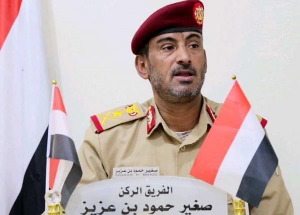 """""""المعركة تمضي قُدماً"""".. رئيس الأركان: الجيش سيفاجئ الحوثيين بضربات لن يتعافو منها"""