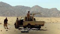 الجيش والمقاومة سيطرون على مواقع جديدة في جبهة بيحان بشبوة ويأسرون 12 حوثياً