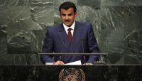 أمير قطر يؤكد على حل أزمة اليمن سياسيا والحفاظ على الوحدة