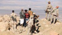 """الجوف: مدفعية الجيش تدمر مخازن أسلحة حوثية في جبهة """"مزوية"""""""