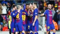 برشلونة يستعد للكلاسيكو بفوز كاسح على ديبورتيفو لاكورونيا