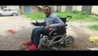 """""""حلمي الورافي"""" ..حلم الثورة المُقعد على كرسي الخذلان في """"إب"""" (بورتريه)"""