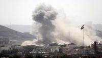 مقاتلات التحالف تشن غارات جوية على مواقع بالعاصمة صنعاء