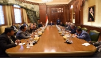 الرئيس هادي يجدد تأكيده على ضرورة تنفيذ القرارات الدولية ذات الصلة باليمن