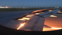 عطل في محرك طائرة المنتخب السعودي يتسبب بنشوب حريق