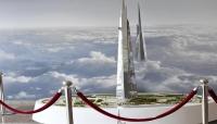 مبنى جديد في دولة عربية يفوق برج خليفة ارتفاعا؟ (فيديو)