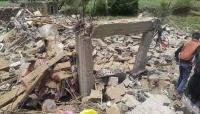 """الحوثيون يفجرون منزل قيادي في الجيش الوطني غرب """"تعز"""""""