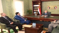 """الرئيس هادي: فتح جبهة عسكرية بذمار ستقطع شريان الحوثيين باتجاه """"البيضاء وتعز"""""""