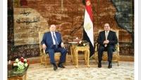 اليماني: اللقاء بين هادي والسيسي ناقش أمن باب المندب وتحرير الحديدة