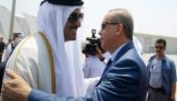 أمير قطر يزور تركيا لدعمها في أزمتها