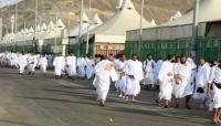 1.96 مليون حاج يصلون مكة المكرمة حتى ظهر يوم التروية