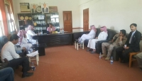 """لجنة سعودية في """"مأرب"""" للإطلاع على وضع التعليم ووعود بتنفيذ مشاريع استراتيجية"""