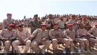 مأرب: تخرج دفعة جديدة من جنود الجيش في معسكر الاستقبال