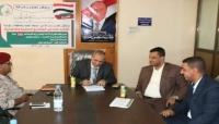 السلطة المحلية بتعز توقع اتفاقية تنفيذ مشاريع خدمية بدعم كويتي