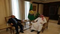 السعدي والعويشق يبحثان علاقات الشراكة بين اليمن ومجلس التعاون الخليجي