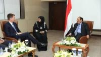 """نائب الرئيس يلتقي وزير الخارجية البريطاني ويؤكد أن """"خطر الحوثي يهدد الأمن الدولي"""""""