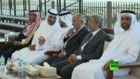 صحيفة: زيارة قيادة الإصلاح إلى أبوظبي لتنظيم صفوف الشرعية استعدادا لمرحلة يمنية جديدة