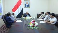نائب الرئيس يلتقي محافظي إقليم سبأ ويؤكد على أهمية التنسيق والتعاون