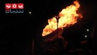 في حفل جماهيري مهيب.. تعز توقد شعلة ثورة فبراير في ذكراها الثامنة (ألبوم صور خاص)