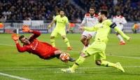 برشلونة يؤجل حسم تأهله بتعادل سلبي مع ليون